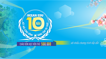 OCEAN EDU : 10 Years In Serving the community, empowering english knowledge to our generation.