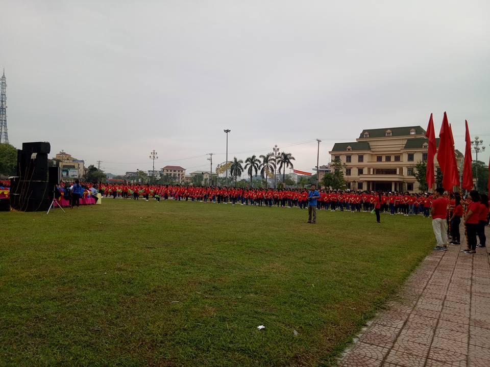 Chương trình giao lưu Kỉ niệm 60 năm ngày truyền thống hội liên hiệp Thanh niên Việt Nam