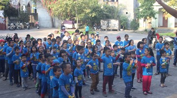 Ocean Edu Bac Giang Students Christmas Outdoor Activities