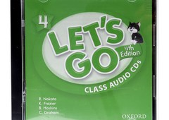 Bộ đĩa CD Let's go 4_4th Edition