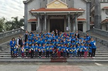 Outdoor Activity: Ocean Edu Nam Dinh  students visited Nam Dinh Cathedral Learn English, English Center