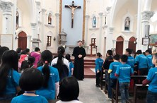 Church Visit and outdoor Activities for Ocean Edu Xuan Mai Students Learn English, English Center