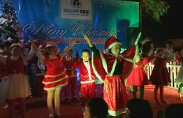 Ocean Edu Yen Bai - Christmas & New Year Celebration