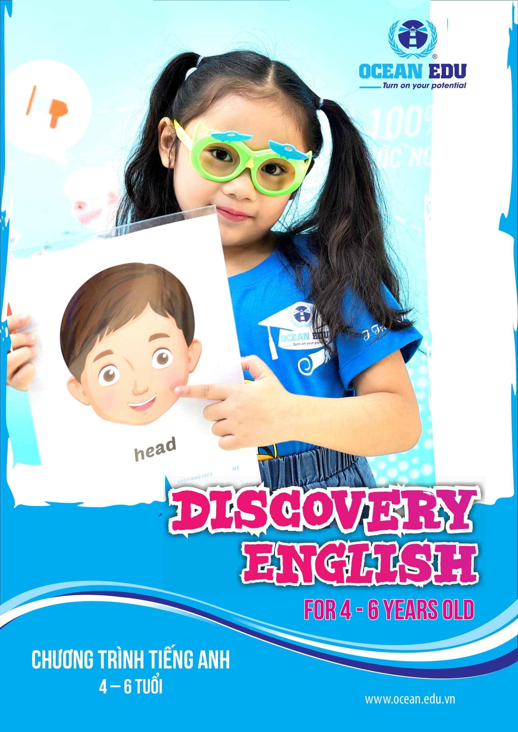 Lớp dạy Tiếng Anh cho bé từ 4-6 tuổi